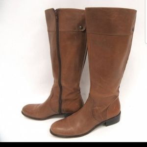 Leather Corso riding boots